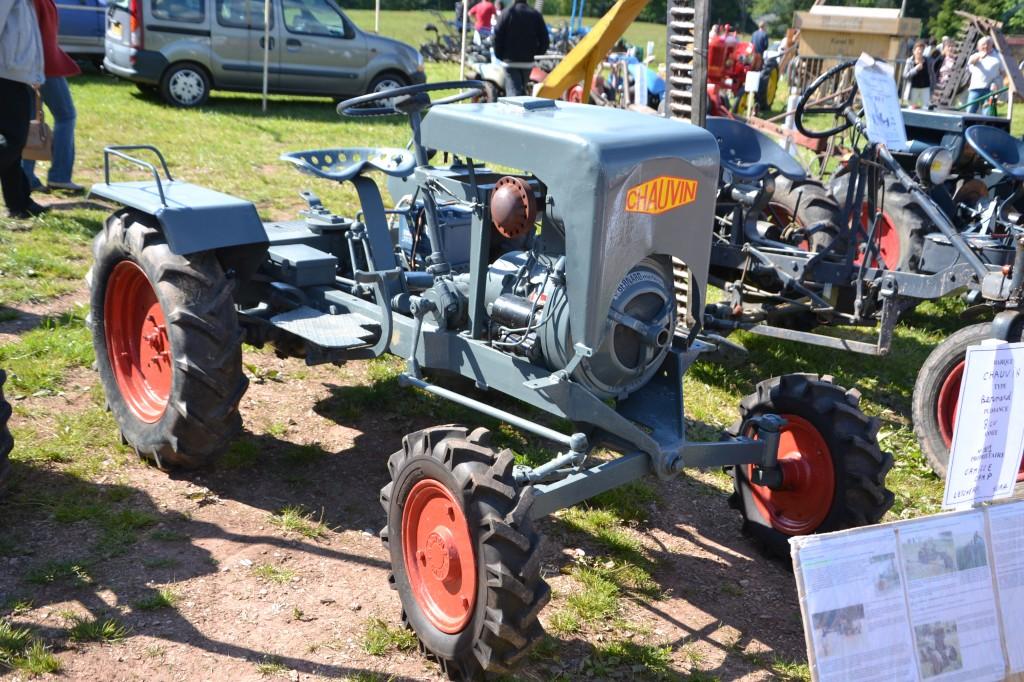 Tracteur Chauvin  - 1947-1957  - Jura
