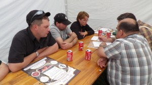 Préparatifs au Girmont : mai 2014